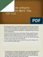 10. Macros en Word Pag.107-110