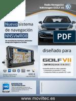 Moviltec Navegador Para Golf 7