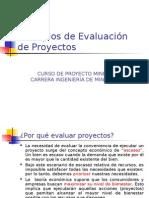 Principios de Evaluacion de Proyectos