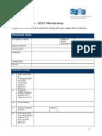 Application Form Membership Engl