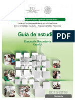 3-Docente Secundaria Espanol