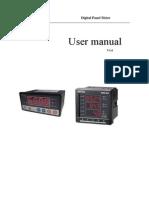 proex Power meter User mannual