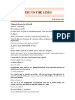 Behind the lines nro 26
