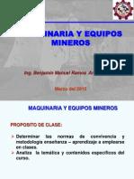 Máquina y Equipo Minero_Tema_01