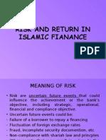 Risk and Return in Islamic Fianance
