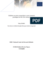 Children as Active Researchers