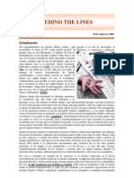 Behind the lines nro 31