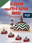 Huzur Mufti Azam Hind by Muhammad Aftab Qasim Noori