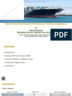 PPP and Port Efficiency