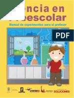 CienciaPreescolarManualExperimentos2011