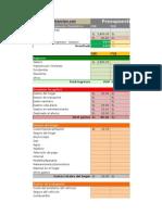 Excel de Gastos
