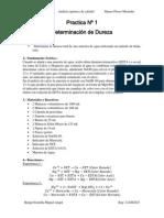 Determinacion Dureza Total