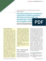 Conferenciante en Terapia Neural, Universidad de Berna