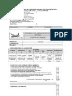 Evaluación de Desempeño Del Contratista Contratos Tipo Obras y Servicios