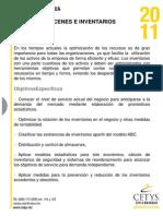 Almacenes e Inventarios 2011-1