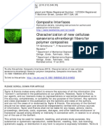 4. Characterization of New Cellulose Sansevieria Ehrenbergii Fibers for Polymer Composites -Composite Interface - Original Copy