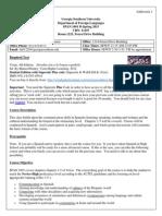 span 1001-section d-syllabus