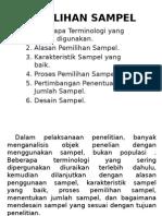 PEMILIHAN SAMPEL1