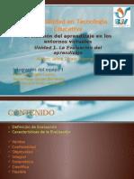 Características de la Evaluación del Aprendizaje (actividad 3.3.)
