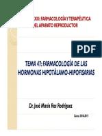Tema 47 48 y 49 Farmacologia Reproductor