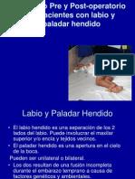 Cuidado Pre y Post-Operatorio de Pacientes Con