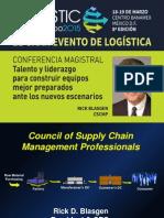 Conferencia Magistral Rick Blasgen