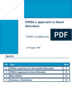 CRISIL's Approach to Asset Allocation_CITIBANK