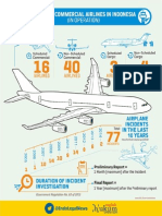 Indonesian Airplane Infographic