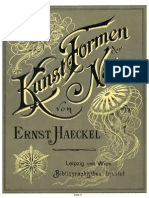 Art Forms of Nature by Ernst Haeckel