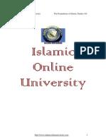 Foundation of Islamic Study Module 1 (2/5)