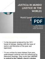 Justice in the World 1