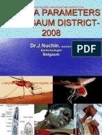 Malaria Parameters in Belgaum-2008