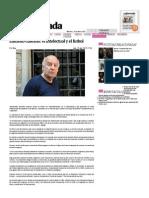 Eduardo Galeano- El Intelectual y El Futbol — La Jornada