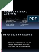 Analisa Kegagalan Material
