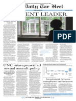 The Daily Tar Heel for April 24, 2015