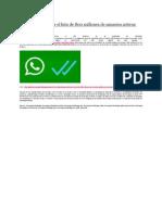 WhatsApp Alcanzar El Hito de 800 Millones de Usuarios Activos Mensuales