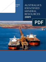 Australia's Identified Mineral Resources