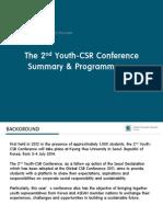 Y-CSR Agenda