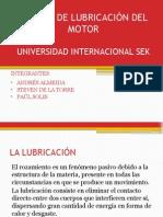 Sistema de Lubricación Del Motor