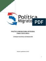 Politica Migratoria