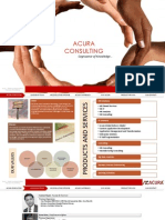 Acura Consulting_Corporate Presentation