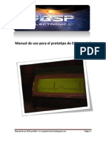 Manual de Uso Para El Prototipo de ECG Portátil