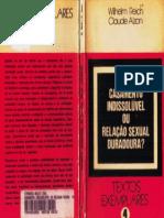 Wilhelm Reich, Claude Alzon-Casamento indissolúvel ou Relação Sexual Duradoura-Edição H.A. Carneiro.pdf