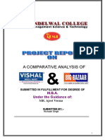 project report on vishal and bigbazar.doc