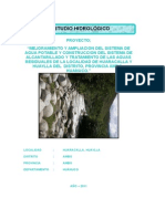 Hidrologico Agua Potable Huaracalla