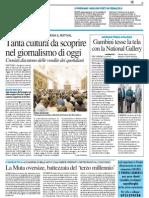 Tanta cultura da scoprire nel giornalismo di oggi - Il Resto del Carlino del 23 aprile 2015