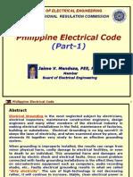 PEC (Phil Elec. Code) (by JVM) - Part-1