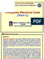 PEC (Phil Elec. Code) (by JVM) - Part-1