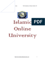 Foundation of ISlamic Study Module 2 (1/4) (First part of module 2)