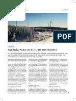 Energía para un futuro sostenible